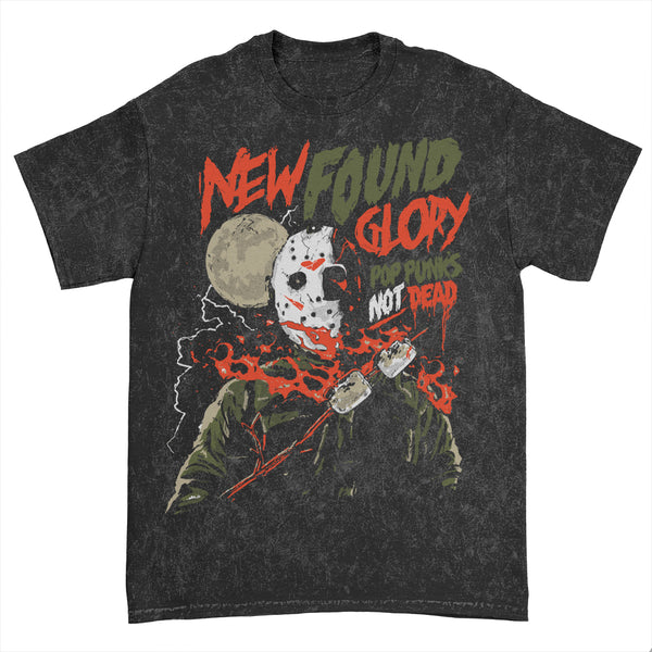 New Found Glory - Jason Mineral Wash Tee (Black)