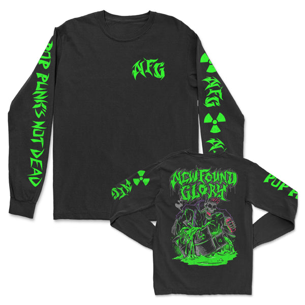 New Found Glory - Thrash Longsleeve (Black)