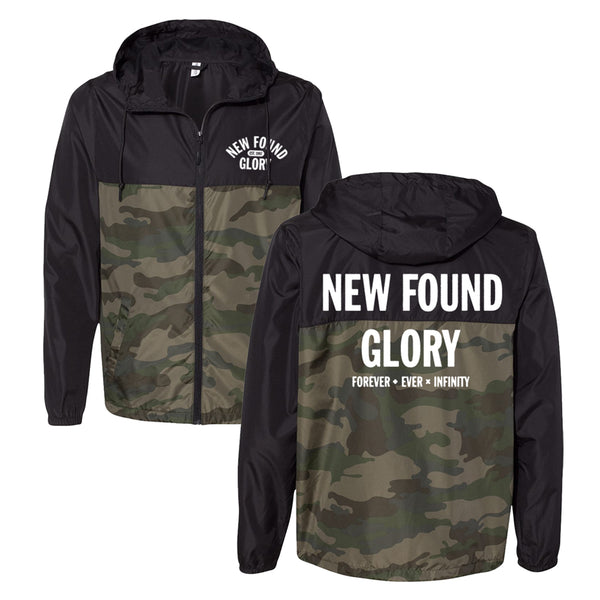 New Found Glory - Infinity Windbreaker (Black/Camo)