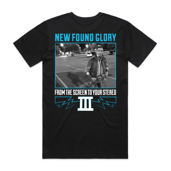 New Found Glory - Back To The Future Tee (Black) back