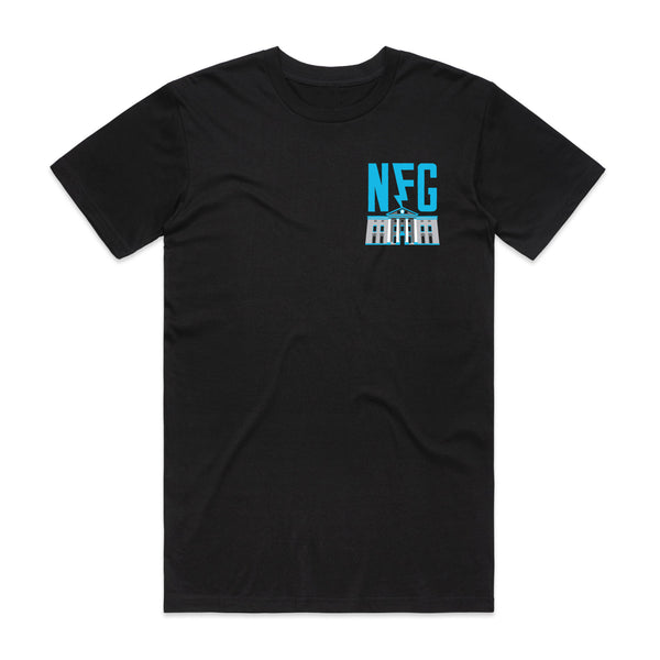 New Found Glory - Back To The Future Tee (Black) front