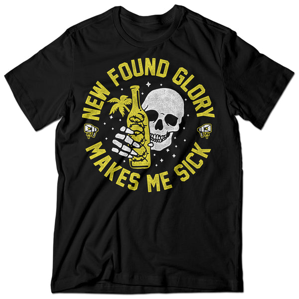 New Found Glory - Barbed Tee (Black)