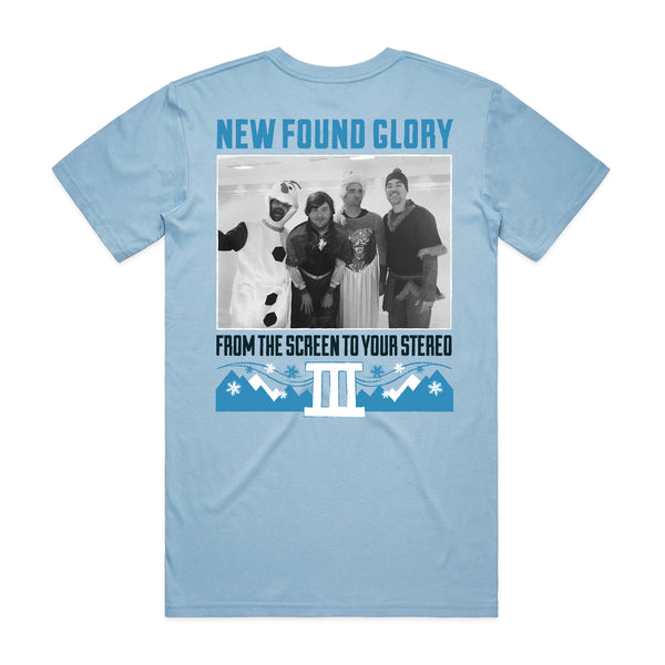 New Found Glory - Frozen Tee (Blue) back