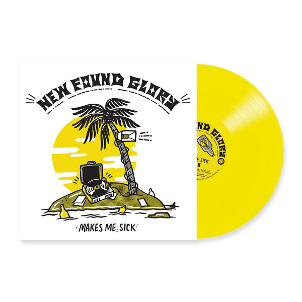 New Found Glory - Makes Me Sick LP (Yellow)