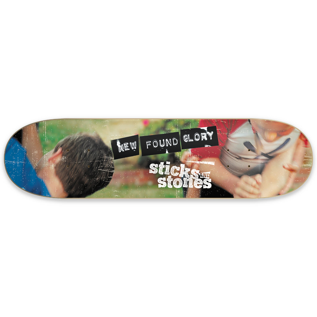 New Found Glory - Sticks and Stones Skate Deck (Limited Edition)