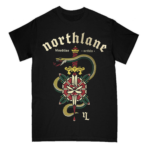 Northlane - Bloodline Snake T-shirt (Black)
