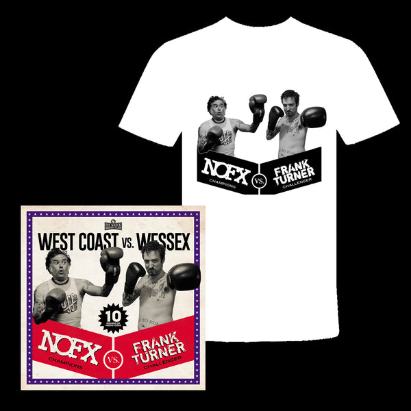 NOFX / FRANK TURNER - West Coast vs. Wessex CD  + T-shirt
