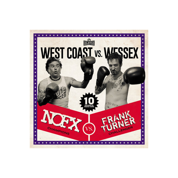 NOFX / FRANK TURNER - West Coast vs. Wessex CD