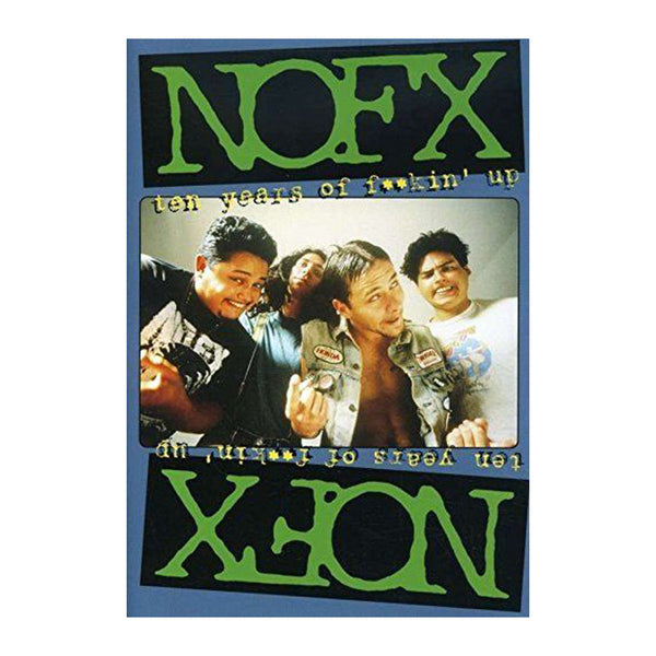 NOFX - Ten Years of Fuckin' Up DVD
