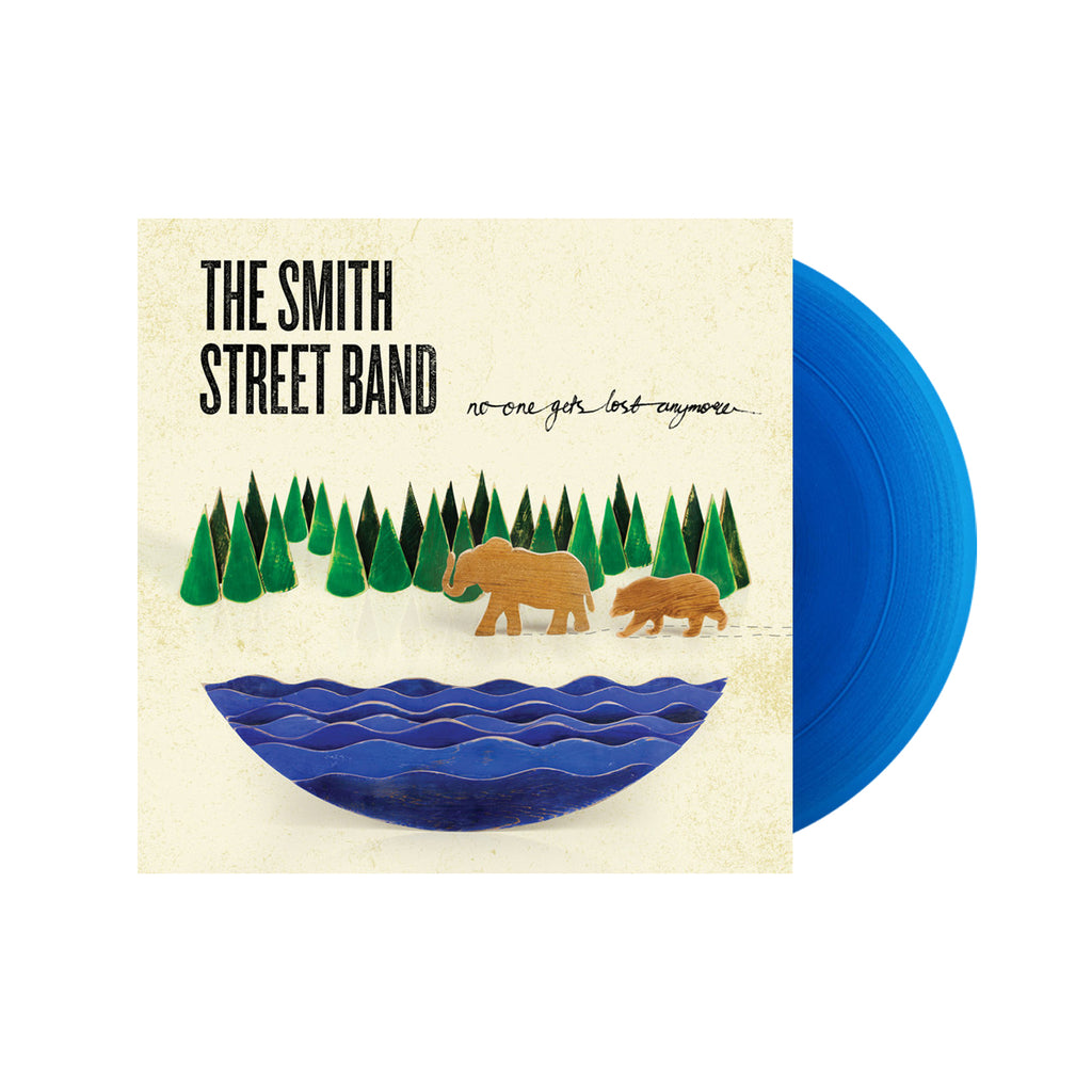 The Smith Street Band - No One Gets Lost Anymore LP (Transparent Blue)