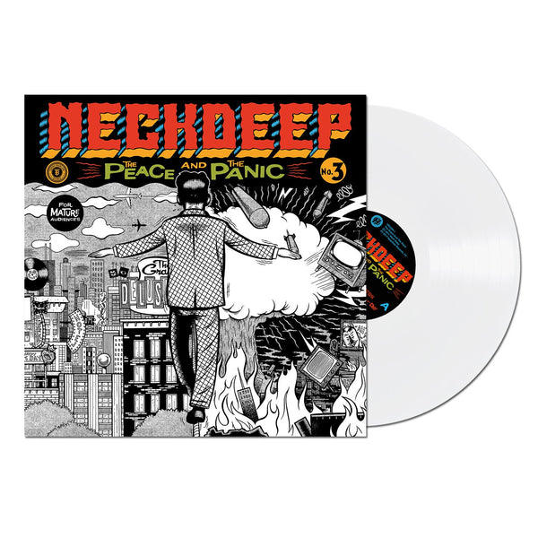 Neck Deep - The Peace and The Panic LP (White)