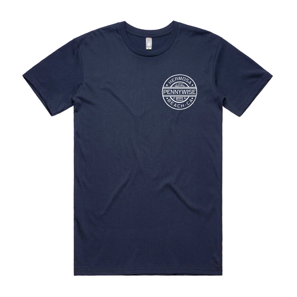 Pennywise - Never Spoils Tee (Navy) front