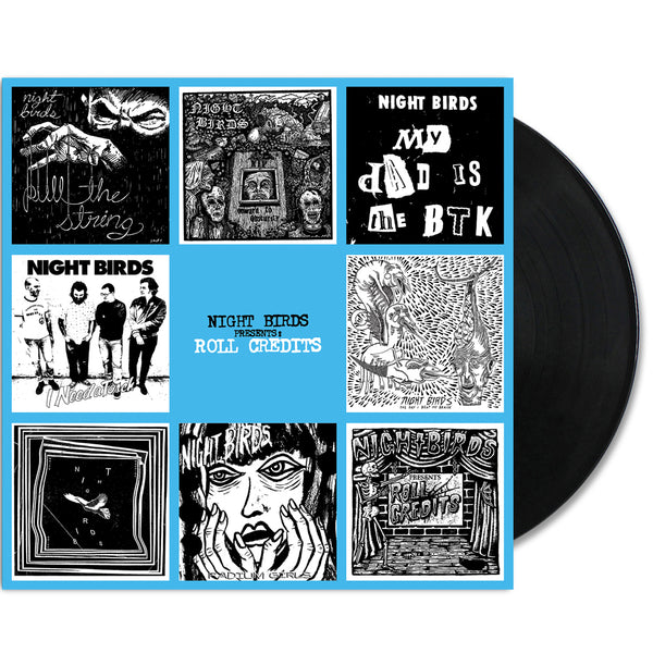 Night Birds - Roll Credits LP (Black)
