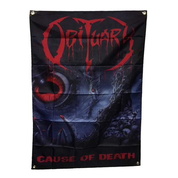 Obituary - Cause Of Death Flag