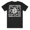 Ocean Sleeper - Monogram T-Shirt (Black)