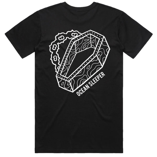 Ocean Sleeper - Coffin T-Shirt (Black)