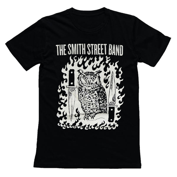 The Smith Street Band - Knife Owl Womens T-Shirt (Black)
