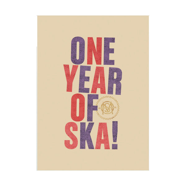 Melbourne Ska Orchestra - One Year of Ska Tea Towel