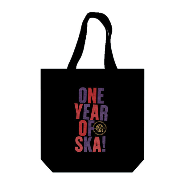 Melbourne Ska Orchestra - One Year of Ska Tote (Black)