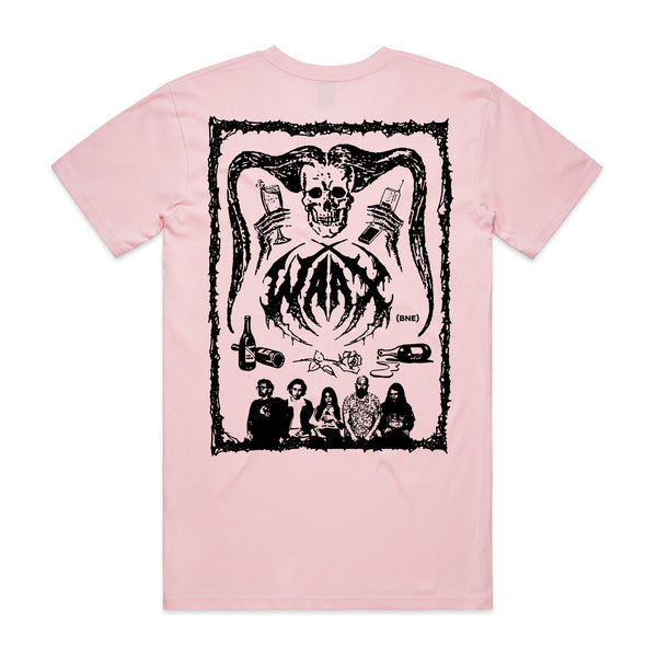 WAAX - Old School Death Metal T-shirt (Pink)