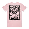 WAAX - Old School Death Metal T-shirt (Pink) back
