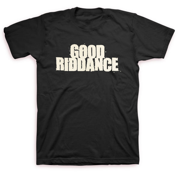 Good Riddance - Old School Tee (Black) Front