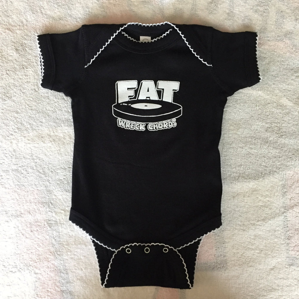 Fat Wreck Chords - Baby Onesie (Black)