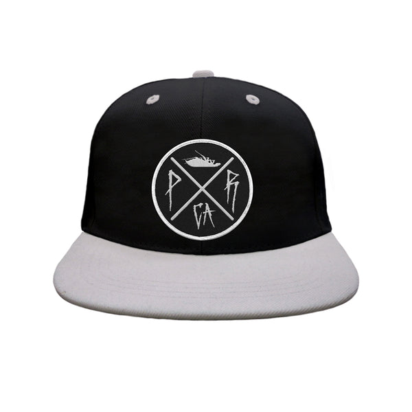 Crossing Logo Snapback Hat