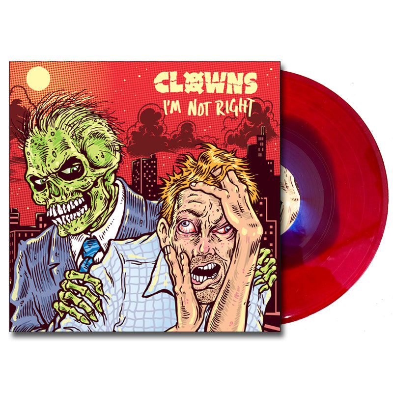 Clowns - I'm Not Right LP (Bloodied/Bruised)