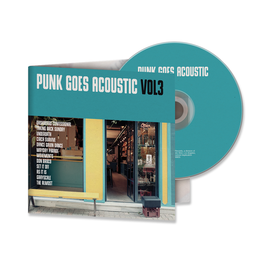 Various Artists - Punk Goes Acoustic Vol. 3 CD