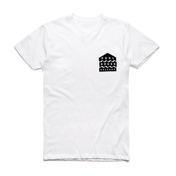 Pool House Records Tee (White)