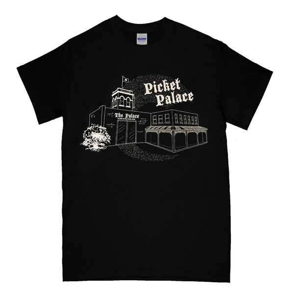 Picket Palace - Makers Of Fine Picket Music T-shirt (Black)