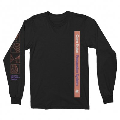 Com Truise - Persuasion System Longsleeve (Black)