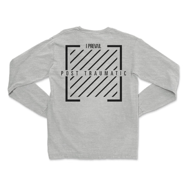 I Prevail - Post Traumatic Long Sleeve (Grey) back