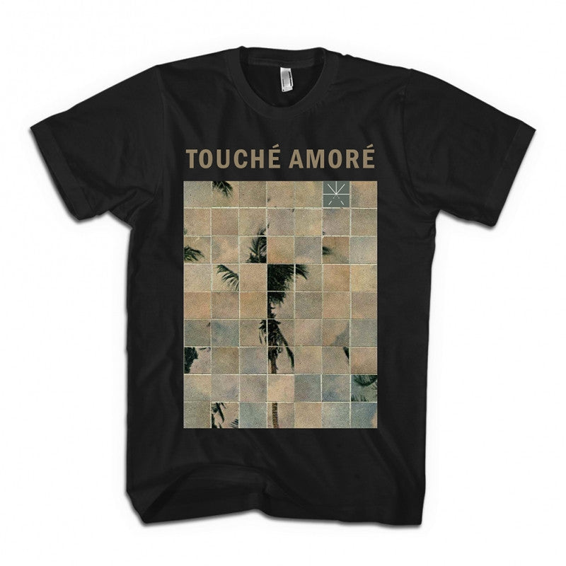 Touche Amore Palm Dreams T-shirt Black