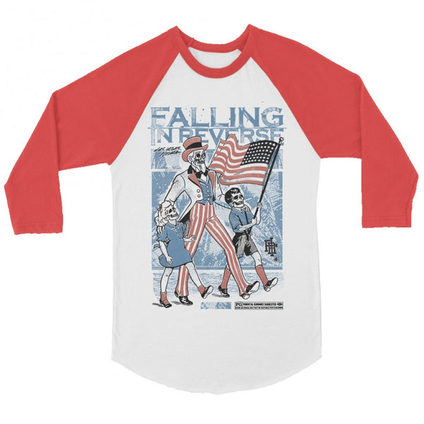 Falling In Reverse - Parental Guidance Baseball Tee