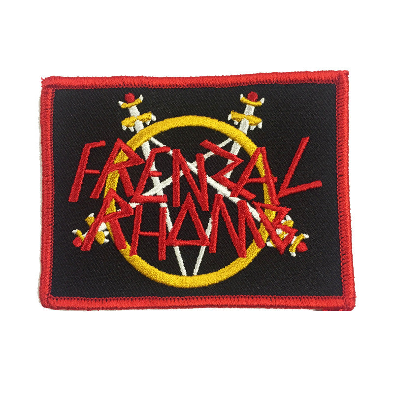 Frenzal Rhomb Pell Awaits Logo Patch