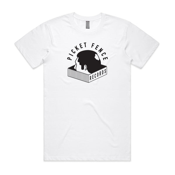 Picket Palace - Picket Fence Records T-shirt (White)