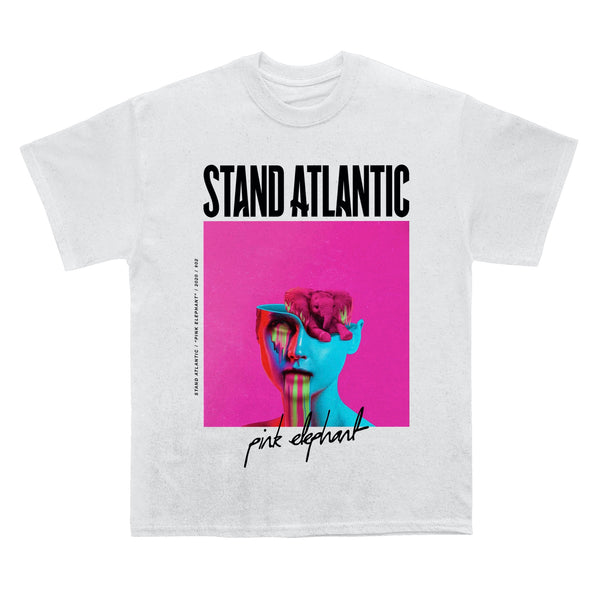 Stand Atlantic - Pink Elephant Tee (White)