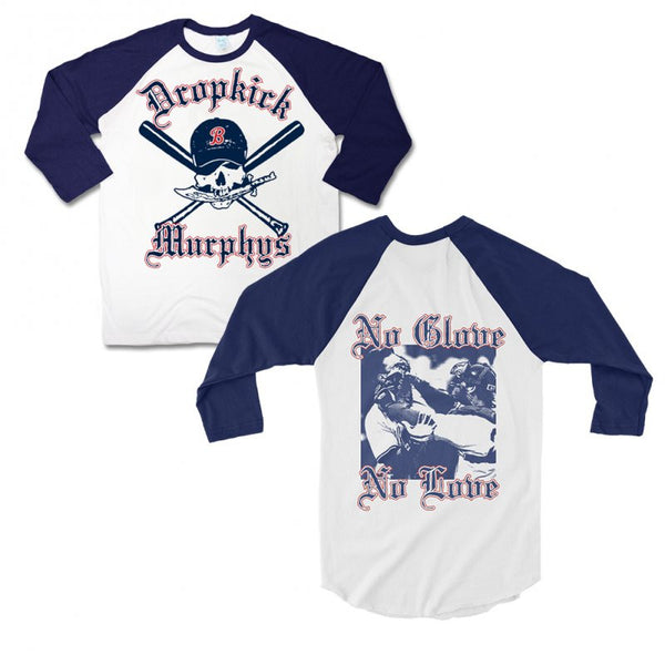 Dropkick Murphys - Pirate Baseball Tee Navy