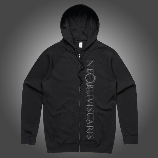 Ne Obliviscaris - Plague Zip Hoodie (Black) Front