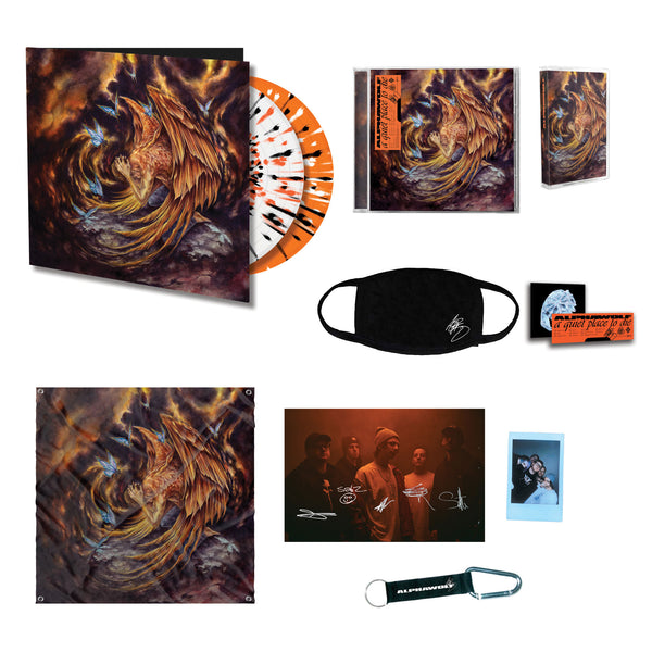 Alpha Wolf - A Quiet Place To Die (Deluxe Box Set) Contents