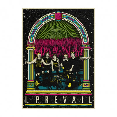 I Prevail Post Traumatic Live Black Light Poster