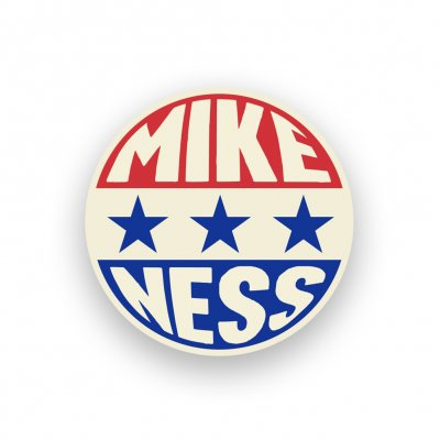 Mike Ness - Presidential Pin