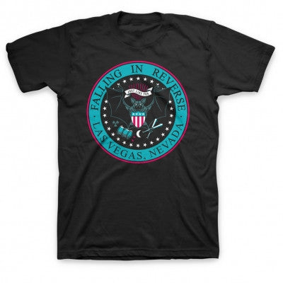 Falling In Reverse Presidential Seal T-shirt