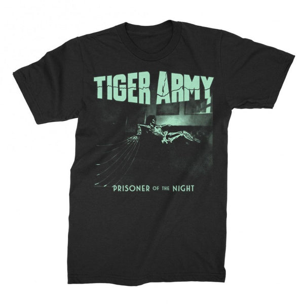 Tiger Army Prisoner Of The Night T Glow In The Dark