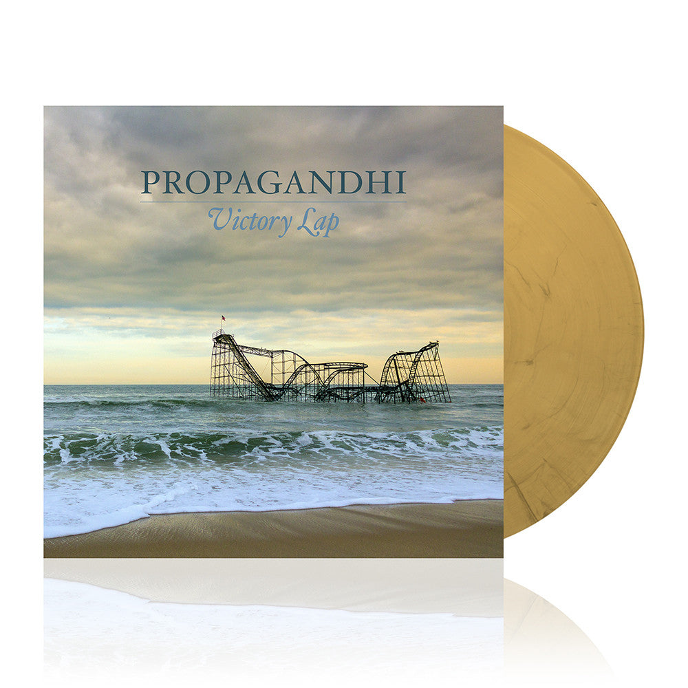 Propagandhi - Victory Lap LP (Beer/Smoke Grey)