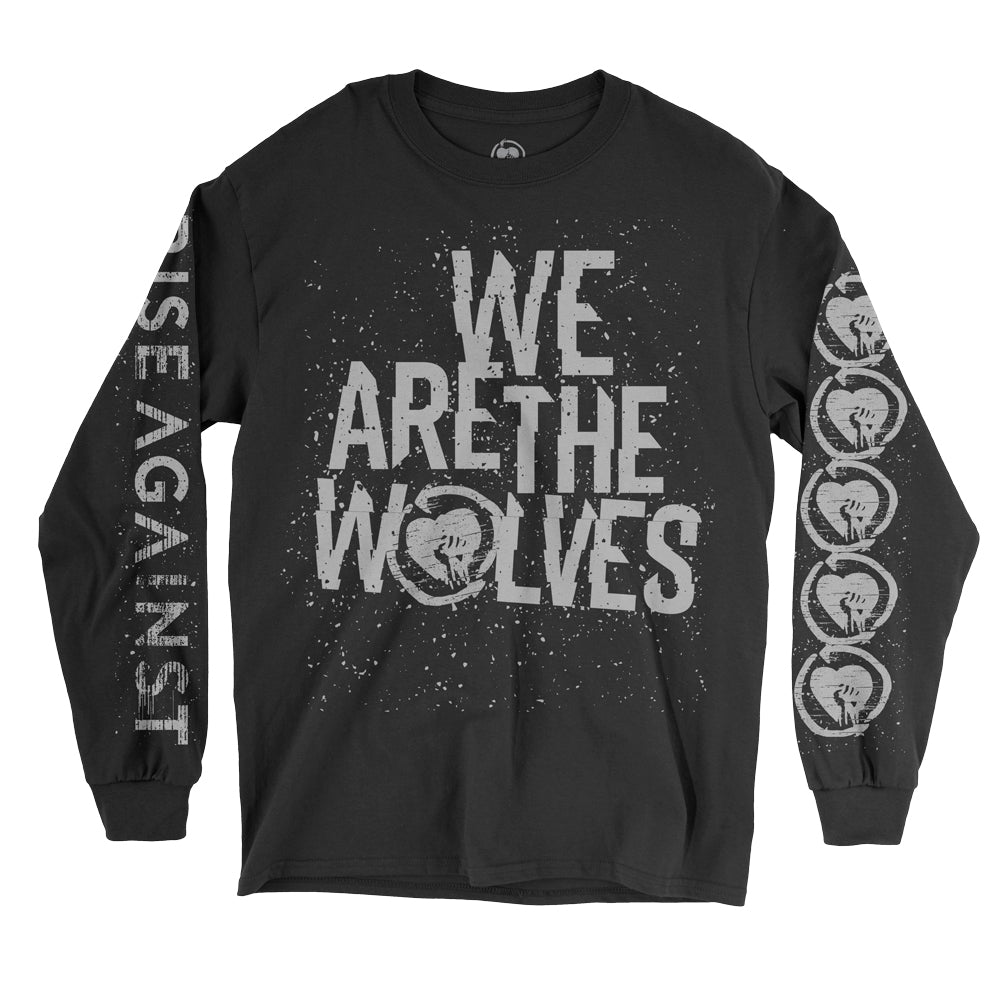 Rise Against - We Are The Wolves Longsleeve (Black)
