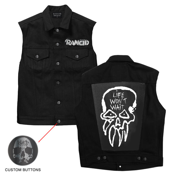 Rancid – Rancid LWW Custom Denim Vest