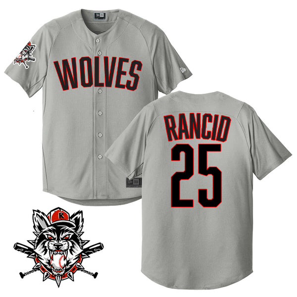 Rancid Wolves Limited-Edition Baseball Jersey (Grey)